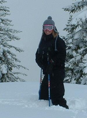Ski IN the Powder