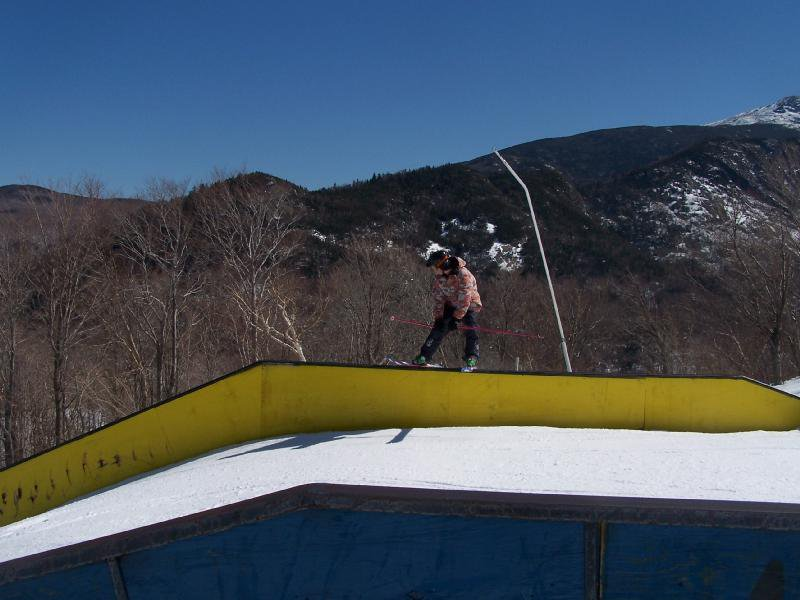Alex on trap rail