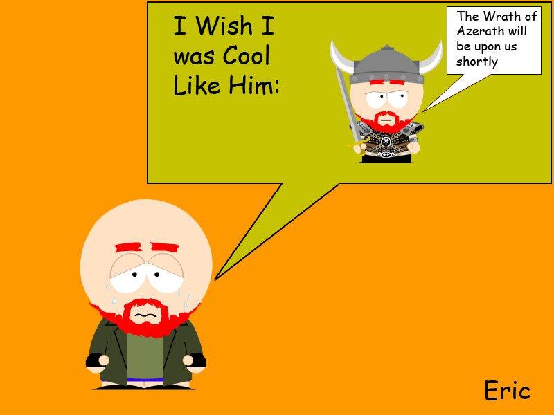 (ignore) Eric (D&D nerd) South Park Style