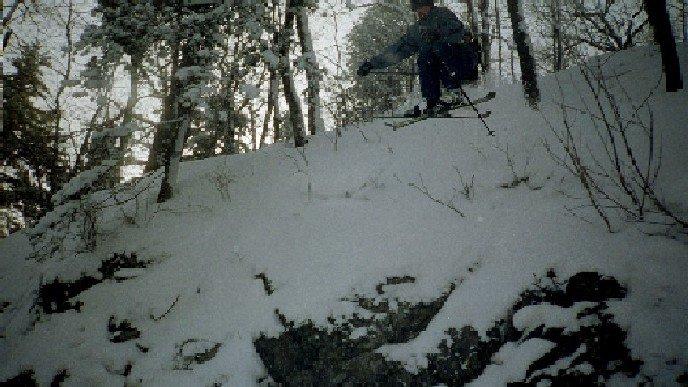 mt bohemia haunted valley cliff drop