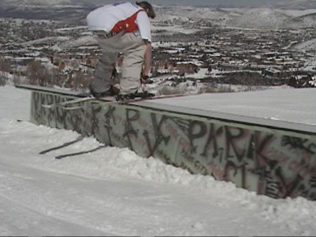 unnatural skier slide