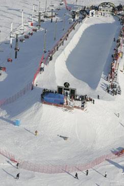 World Championships Halfpipe diff angle