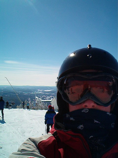 d rizzle getting gangsta all over tremblant