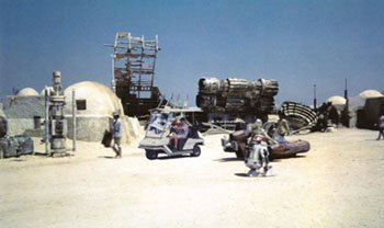 I often drive into Mos Eisley for supplies.