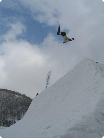 Sapporo Radical big air contest 1st Masaki
