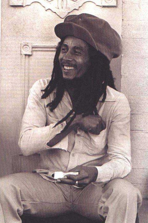 Bob Marley rollin