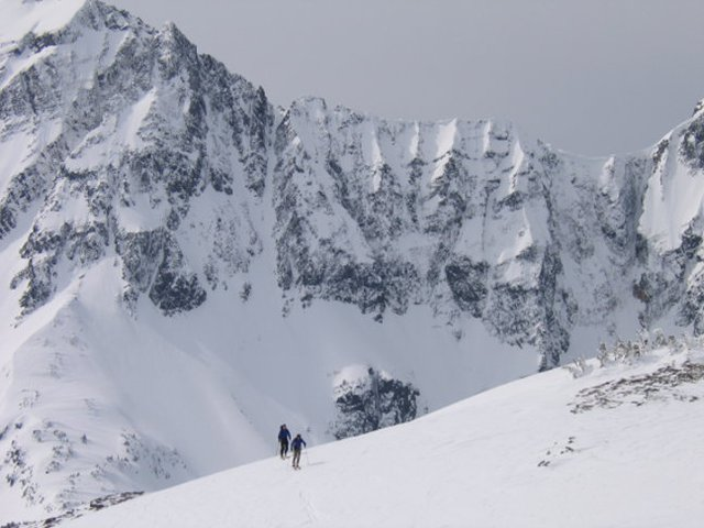Skinning with scenic background