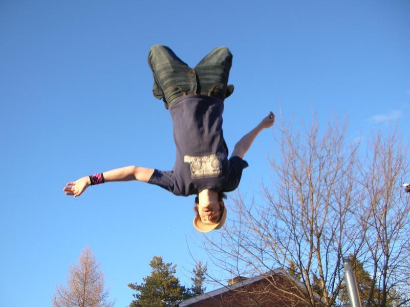 backflip on tramp