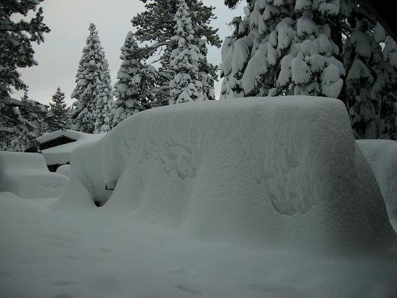 Tahoe got dumped on during new year's (I know it's old)