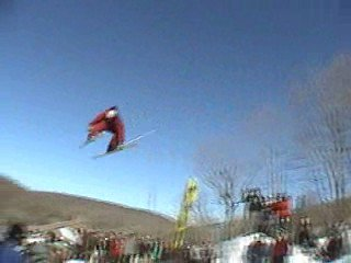 Superpark big air jump, 3 inside safety