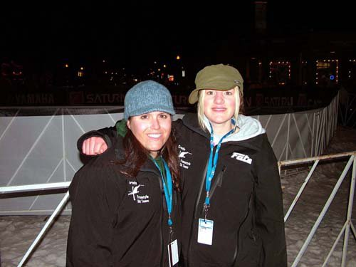 Me and Cortney at the Frisco Rail Jam a little while ago