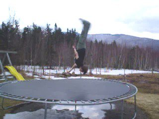 this is the way a backflip should be
