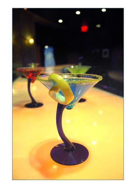 martini, commercial shoot i did for a bar