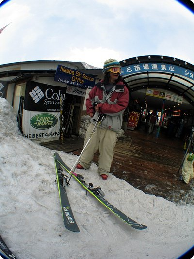 in front of Mc(ma japanese skier dude)