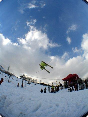 line japanese girl skier.............