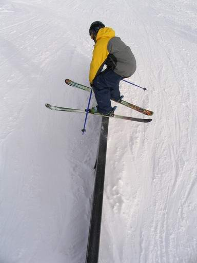 Rail from above