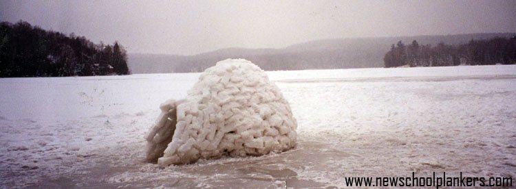 Igloo's are fun.. from about 6 years ago I think
