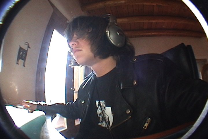 me with big headphone things