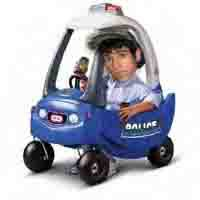 Andrew in his new car