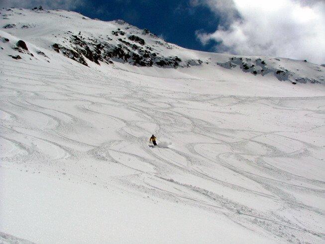 Switzerland's april Snow