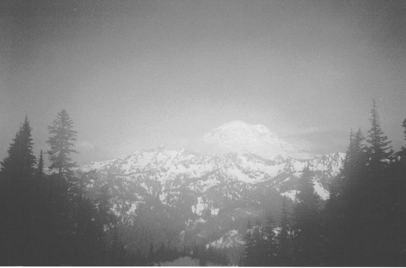 Crappy picture of Rainier