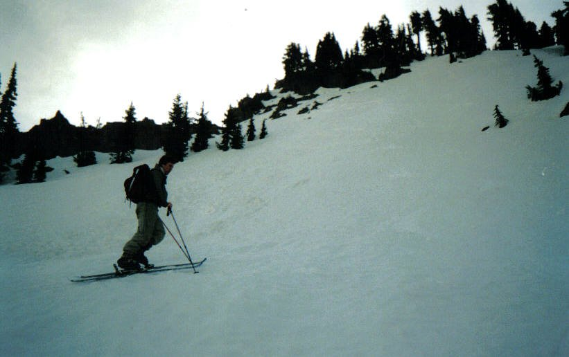 Skinning at early in the morning