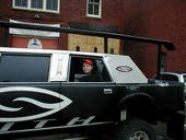 Me in the Smith Limo