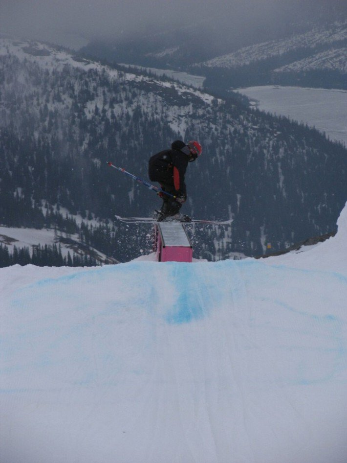 clean boxrail in Are /freeride weekend