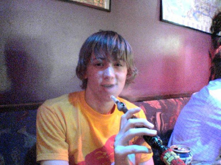this is me chillin at a hookah bar woop woop