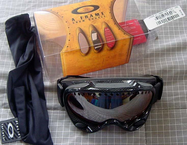 FS: Oakley A Frame - Carbon fiber w/ blk lens