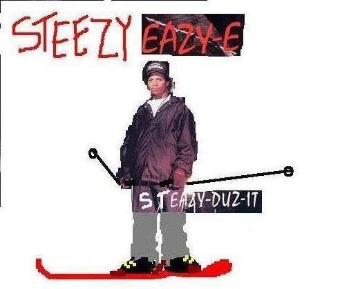 steezy eazy-e from NWA still got love fo' the streetz
