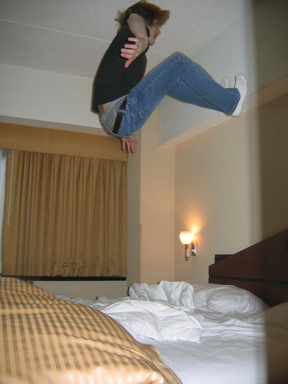 More Hotel Bed Jumping