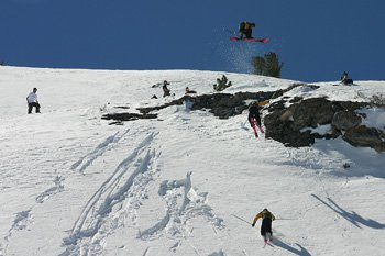 80 ft 180 into powder, stomped