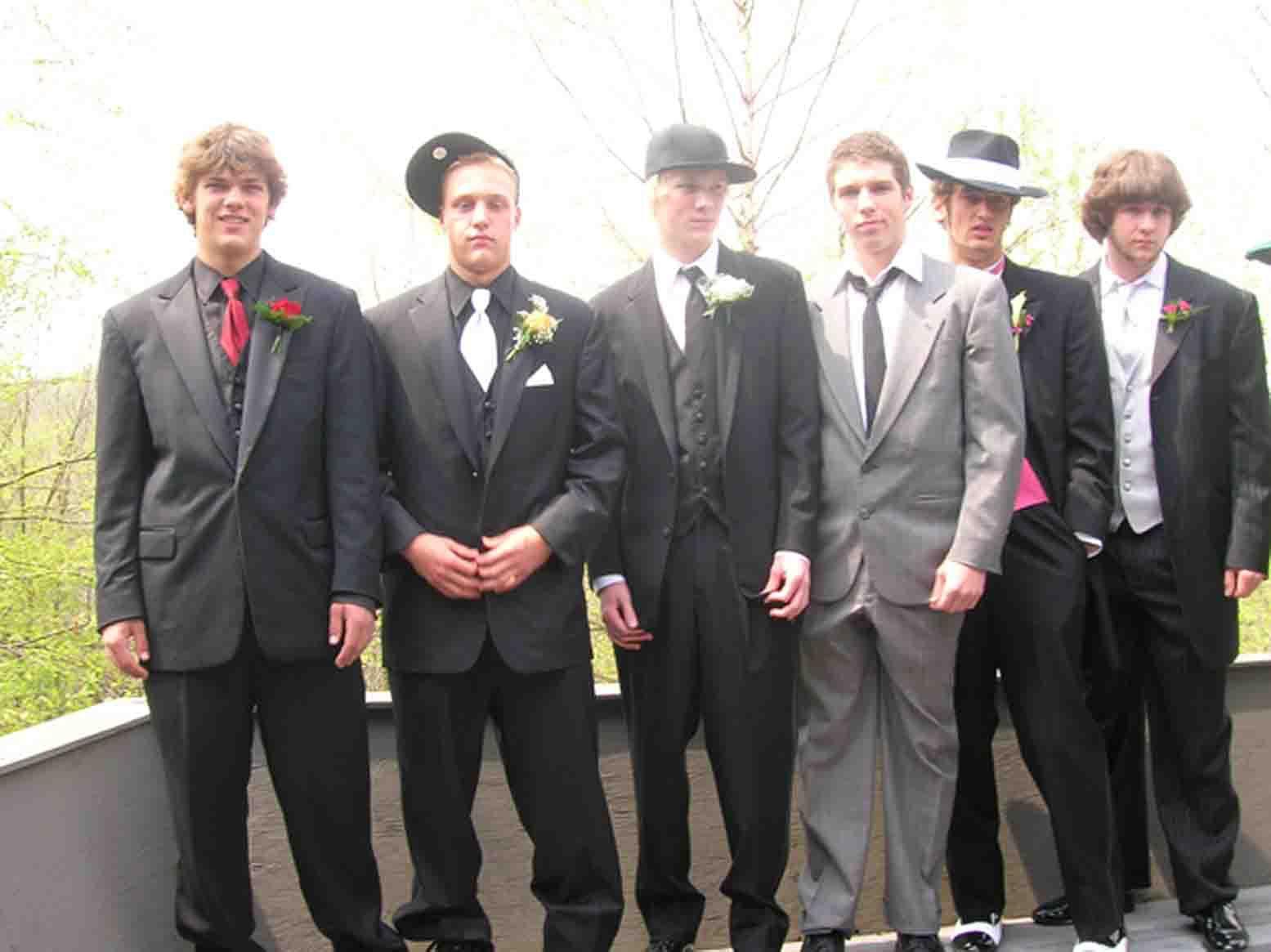 guys before prom