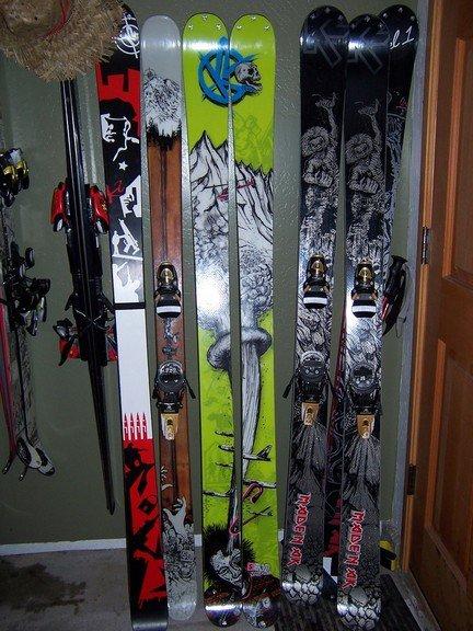 my ski collection