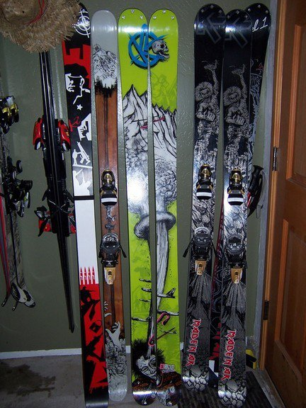 my ski collection