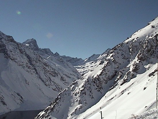 The Skiing In Chile