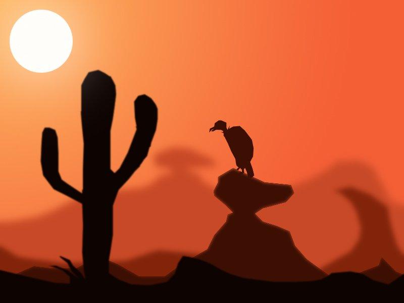 photoshop desert