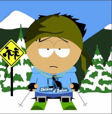 Southpark Skier