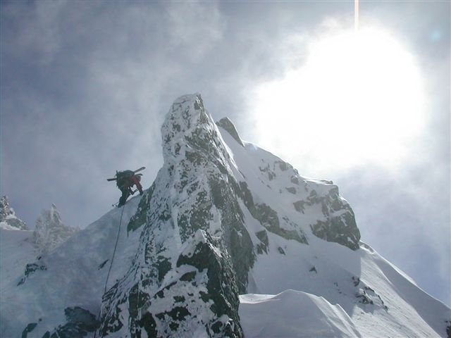 ski guide course - hardest 3 weeks of my life but GRAND!!!
