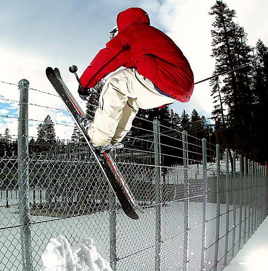 SICK shot on the fence