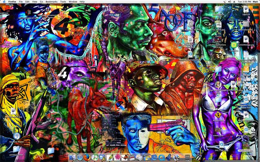 madsteez desktop collage i made