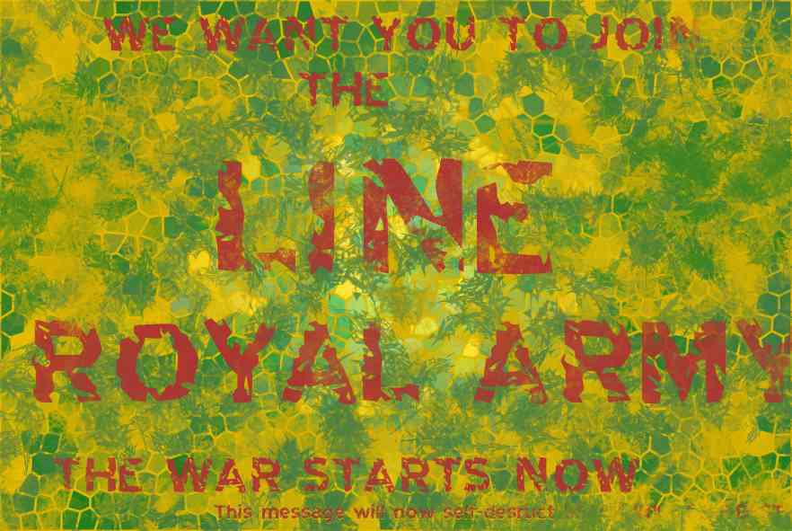 Line Royal Army First Time Using Photoshop for dessines