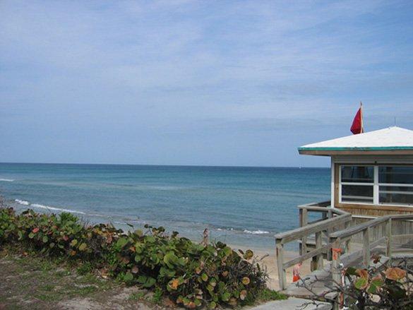 Florida beach Shot