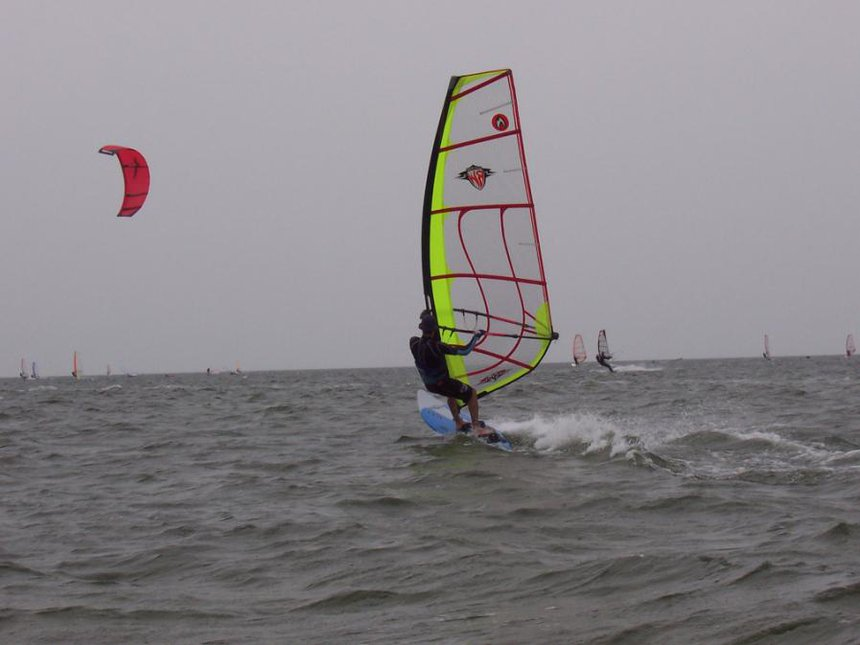 trying out a RealWind speed needle
