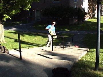 same handrail