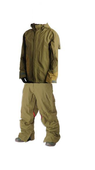 The Whiteout Comrade Jacket and Lada Pants put together in Paint.