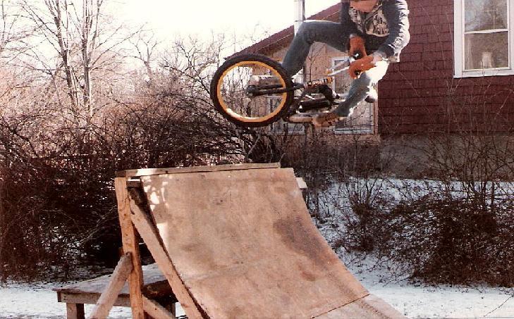 old school biking+ghetto=my uncle