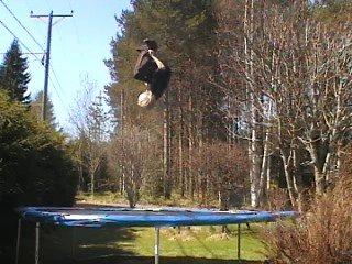 loop on trampoline