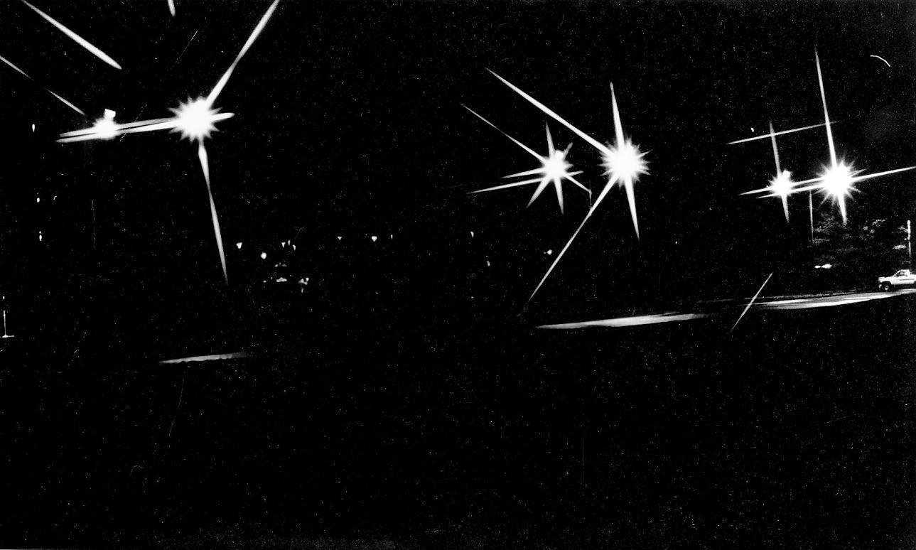 Night Time B&W exposure at CU